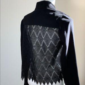 Bailey 44 Koolhaas Crochet Back Blazer